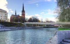 Bild på nya Storbron i Sundsvall
